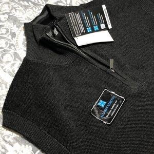 Men's NWT Tricots ST Raphael Sleeveless Sweater L
